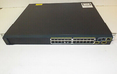 Cisco WS-C2960S-24PD-L Catalyst 2960-S Series POE + 10G With STACK module