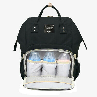 Baby Diaper Bag Multi-Function Travel Backpack Baby Nappy Changing Mommy Bags /