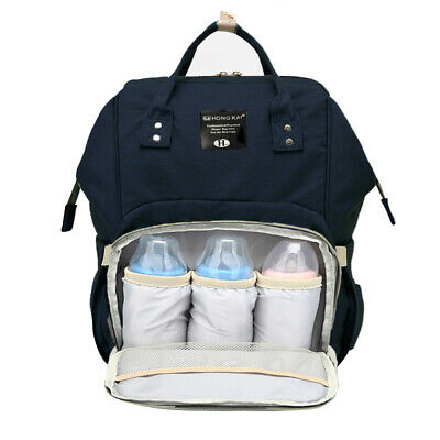 Baby Diaper Bag Multi-Function Travel Backpack Baby Nappy Changing Mommy Bags #