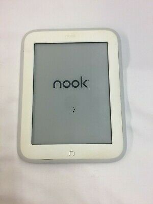 Barnes & Noble NOOK GlowLight 4GB, Wi-Fi, 6 inch (SCRATCHES)- White   09-7C