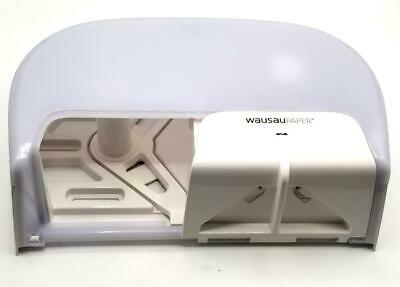 Wausau Paper T80480 2 Roll Tissue Dispenser White (12 Available)