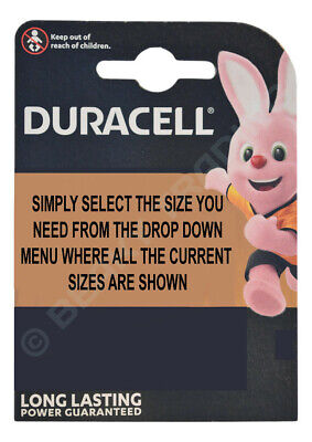 Genuine DURACELL Silver Oxide Watch Battery Swiss Made 1.5v - ALL SIZE SHOWCASE!