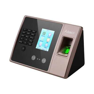 Aibecy Intelligent Biometric Fingerprint Time Attendance Machine with HD K3H1