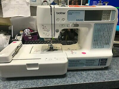 Brother Se-350 Enthusiast Embroidery Machine 4X4 Hoop Sewing Machine Embroider