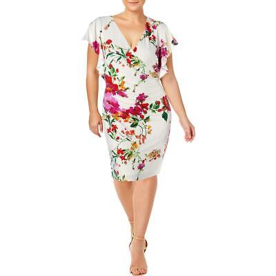 Lauren Ralph Lauren Womens Floral Print Special Occasion Dress Gown BHFO 3024