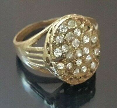 Stunning Antique Unique Ring Bronze Roman Medieval Jewelry Collection Antique