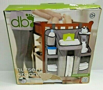 Diaper Caddy and Nursery Organizer for Baby's Essentials Dexbaby Gray NEW