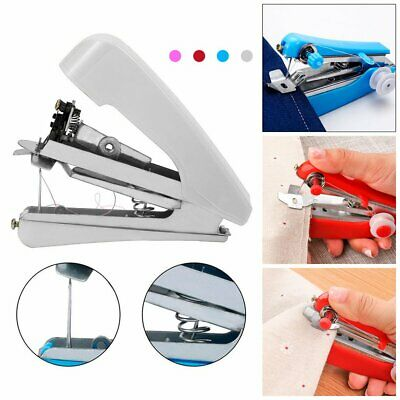 Mini Portable Cordless Hand-held Clothes Sewing Machine Home & Travel Use GN