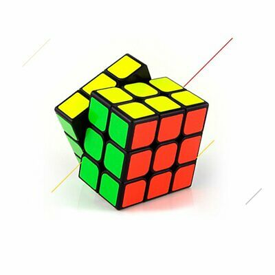 3x3 Kid Fun Toy Original Rubiks Cube Rubix Magic Rubic Mind Game Classic Puzzle@
