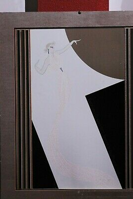 Erte-National Playwrights Conference-1982 Serigraph