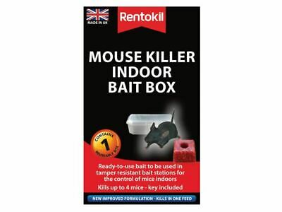 Mouse Killer Indoor Bait Box RKLPSM81