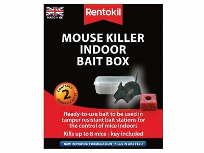 Mouse Killer Indoor Bait Box Twin Pack RKLPSM82