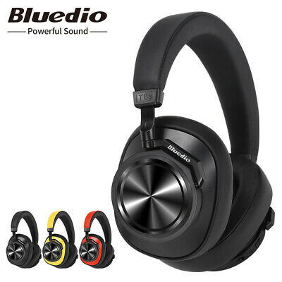Bluedio T6S Bluetooth Headphones Active Noise Cancelling  Wireless Headset for
