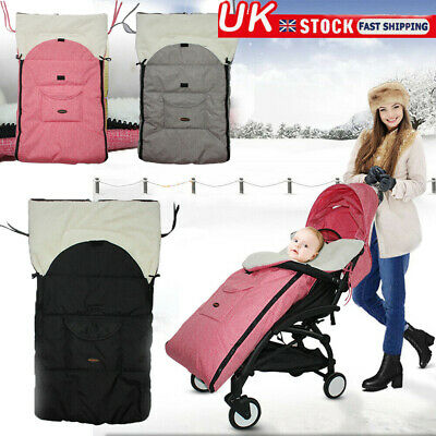 UK Baby Winter Keep Warm Sleep Sack Neonatal Stroller Sleeping Bags Sleeping Bag