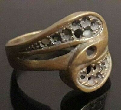 Fabulous Ancient Ring Roman Medieval Antique Unique Old Rare Collection Jewelry