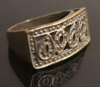 Roman Ancient Ring Medieval Antique Type Jewelry Old Collection Wearable Rare
