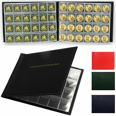 60-96-240 Coins Wallet Collection Holders Storage Money Penny Pocket Book