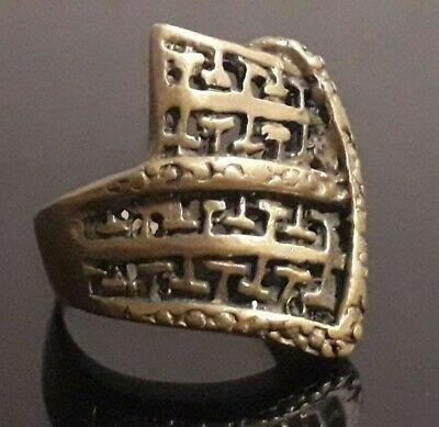 Very Rare Roman Medieval Design Ring Old Jewelry Antique Stunning Ornament