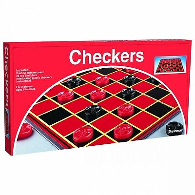 Pressman Toy Checkers Folding Board Game-1 Pack