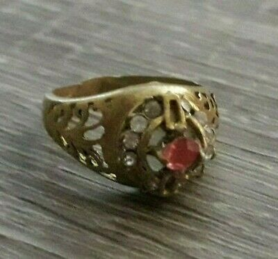 Stunning Antique Ring Artifact Viking Unique Jewelry Collection Very Old