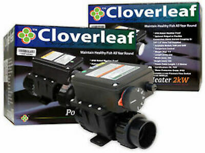 Cloverleaf 2 kw pond heater Koi Pond Heater £169.99