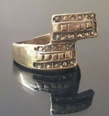Ancient Ring Very Rare Medieval Roman Design Jewelry Old Type Artifact