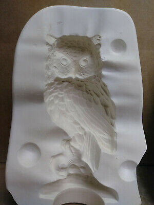 Ceramic Mold  OWL Duncan DM 32b Used Mold