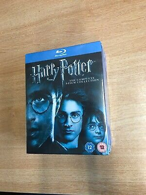 Harry Potter The Complete 8 Film Collection Blu Ray Dvd Box Set