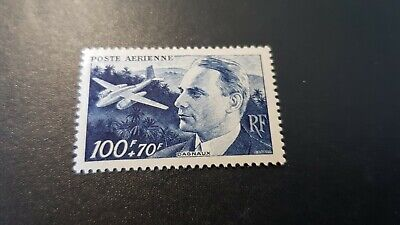 France Timbre Poste Aérienne Pa N°22 Neuf ** Luxe Mnh Cote 5€