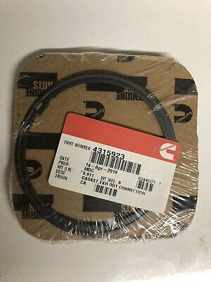 Cummins Exhaust out Connection Gasket 4315923 NEW