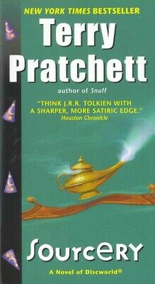 Sourcery, Paperback by Pratchett, Terry, Like New Used, Free shipping in the US