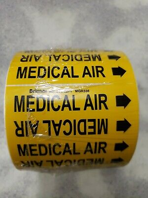 Medical Air Pipe Markers