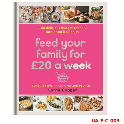 Feed Your Family For £20 a Week By Lorna Cooper Paperback NEW