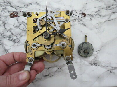 Vintage English Striking Clock Movement For Spares Or Repair (Lot 4)