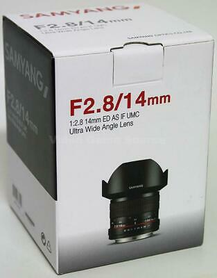 Samyang 14Mm F2.8 Ed As If Umc Ultra Wide Angle Lens Objektiv Rokinon Canon Ef