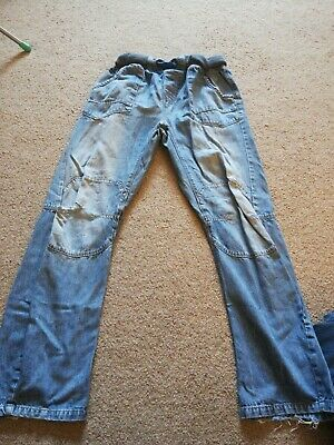"""NEXT""  Boys,  Skinny,  Blue Denim Jean's age 16 adjustable waist."