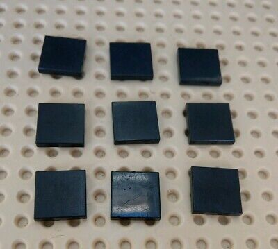 Lego x10 Smooth Flat Tiles 2x2 Studs Multiple Variations 3068 Part Nr