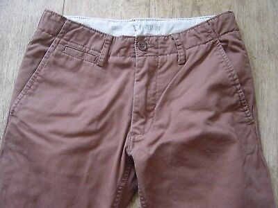 Gap Kids boys chinos  trousers jeans Brown Tan  size 13 XXL regular leg