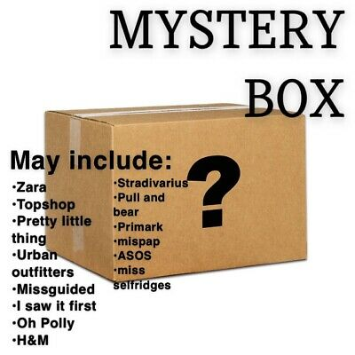 Clothing / Fashion Box. May Include: Pretty Little Thing, Missguided Etc