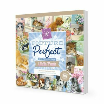 """Hunkydory Picture Perfect Pad Little Paws  8""""x8"""", 48pg"""