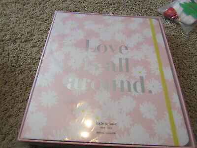 "Kate Spade New York Women's Ms. Magazine Bridal Planner ""Love is All Around"" new"