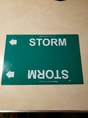 Storm Pipe Markers