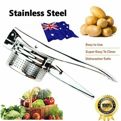 Stailess Steel Large Potato Ricer Masher Fruit Vegetable Press Maker Kitchen Y2