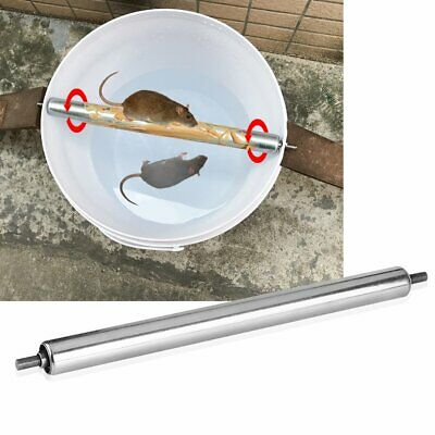 UK Pest Rats Stick Rodent Mice Log Rolling Spin Mousetrap Mouse Trap Bucket