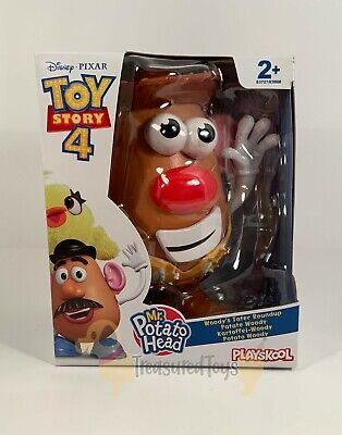 Hasbro Playskool Toy Story 4 Woody's Tater Roundup Mr Potato Head NEW
