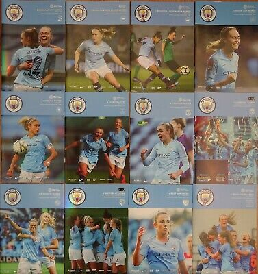 MANCHESTER CITY v BRIGHTON AND HOVE ALBION    2018/19  Womens Continental Cup