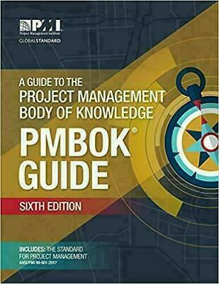A Guide to the Project Management Body of Knowledge <<PAPERBACK>><FREE SHIPPING>