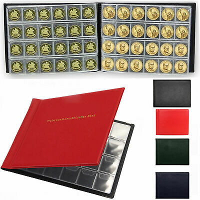 60-96-240 Coins Wallet Collection Holders Storage Money Penny Pocket Book UK