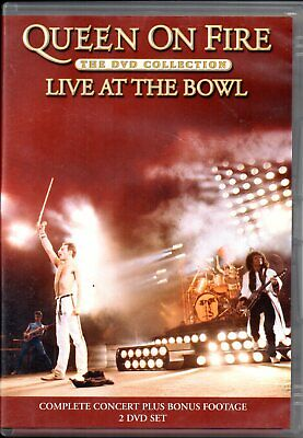 QUEEN ON FIRE: LIVE AT THE BOWL: 2 DVD & Booklet (2004)