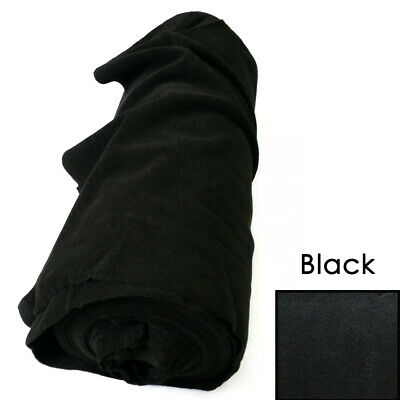 Thick Wall Black Van Car Camper Boot Acoustic Velour Lining Trunkliner Carpet